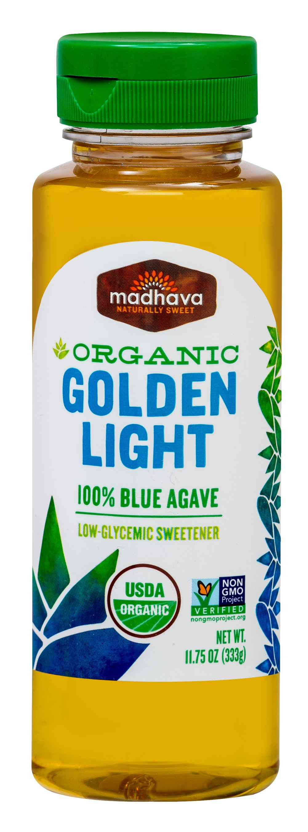 Organic Light Agave <p><strong>From the Manufacturer's Label: </strong></p><p>Madhava Agave is an all-natural sugar replacement made from the juice of the agave plant. It's a simple plant-based food that is a great alternative to processed sugar or artificial sweeteners.</p><p>Just pure deliciousness. Enjoy!</p> 11.75 oz Bottle