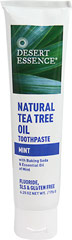 Desert Essence® Natural Tea Tree Oil Mint Toothpaste  6.25 oz Paste  $4.49