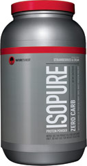 Isopure Zero Carb Whey Protein Isolate Strawberry & Cream  3 lbs Powder  $44.99
