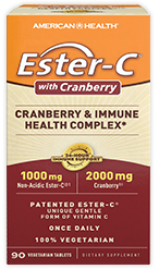 Ester-C<sup>®</sup> 1000 mg with Cranberry, Cranberry & Immune Health Complex*