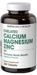 Chelated Calcium and Magnesium with Zinc