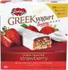 Greek Yogurt Strawberry Bars