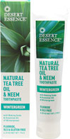 Tea Tree Oil & Neem Wintergreen Toothpaste