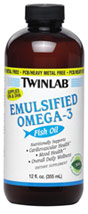 Emulsified Omega-3 Fish Oil Liquid Mint