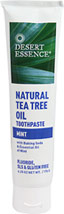 Desert Essence® Natural Tea Tree Oil Mint Toothpaste