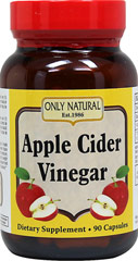 Apple Cider Vinegar 500 mg 90 Capsules | Diet & Lifestyle