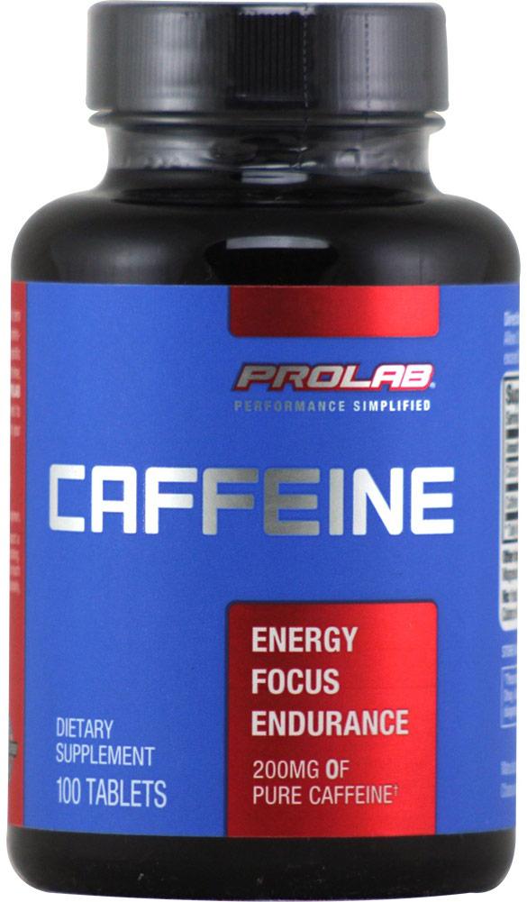 PROLAB Nutrition Caffeine 200 mg-100 Tablets