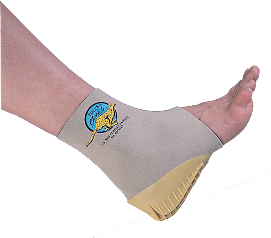 Tuli's Tuli's Ankle Supports w/Heel Cups Large-1 Large Each 004744