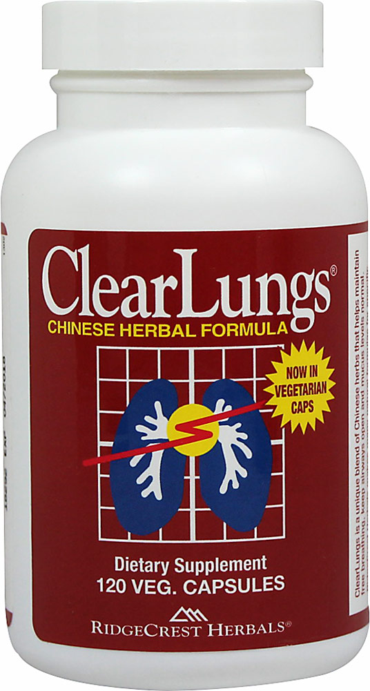 Ridgecrest Herbals Clearlungs-120 Capsules 005622