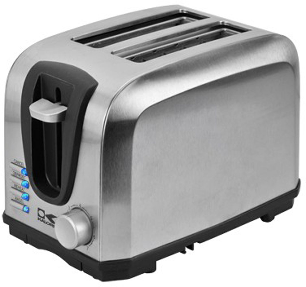 Kalorik 2-Slice Stainless Steel Toaster-1 Each 006329
