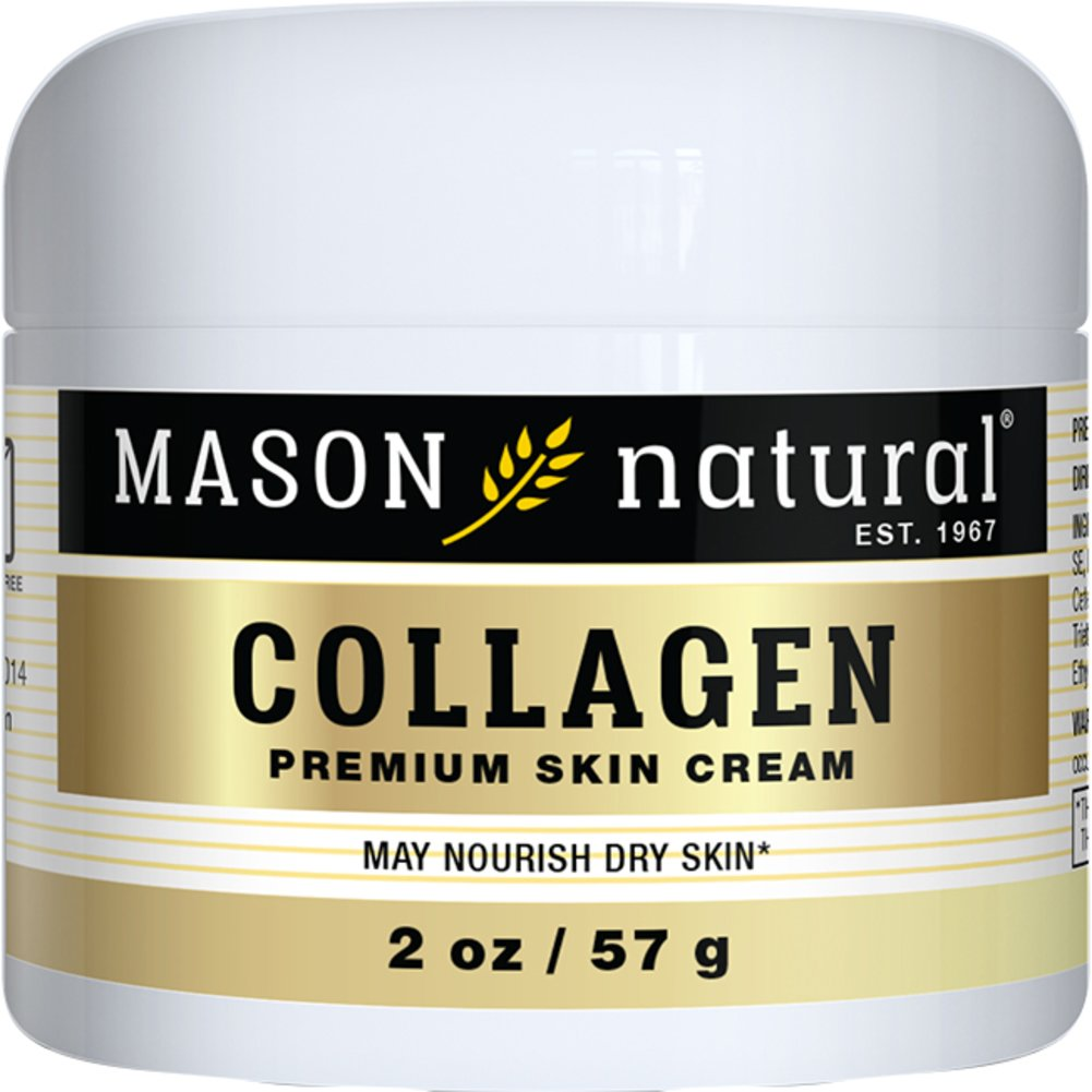 Mason Naturals Collagen Beauty Cream-2 oz Jar