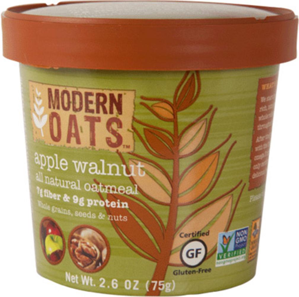 Modern Oats Apple Walnut Oatmeal Cups - 12 Cups 012837