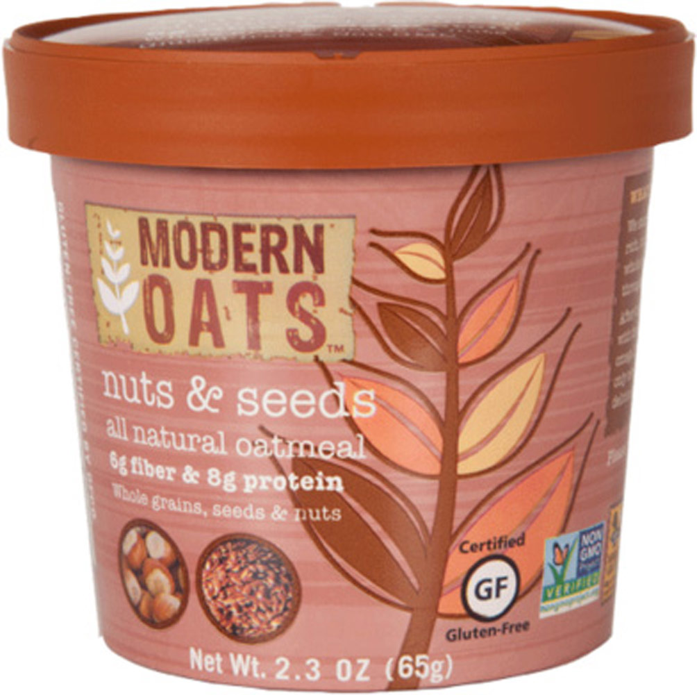 Modern Oats Nuts & Seeds Oatmeal Cups - 12 Cups 012838