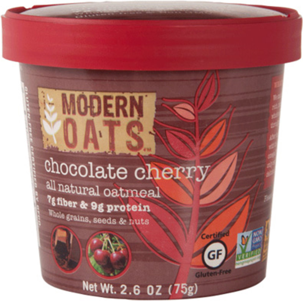 Modern Oats Chocolate Cherry Oatmeal Cups - 12 Cups 012839