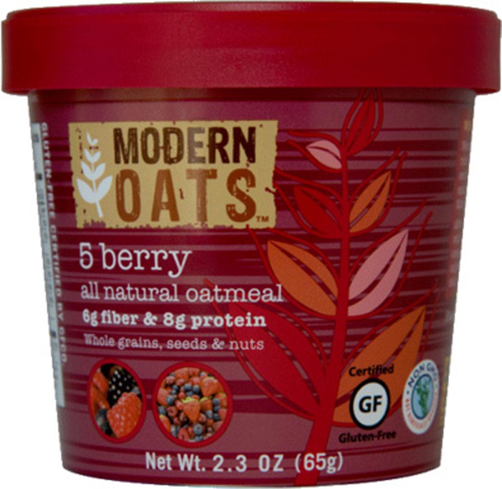Modern Oats 5 Berry Oatmeal Cups - 12 Cups 012841