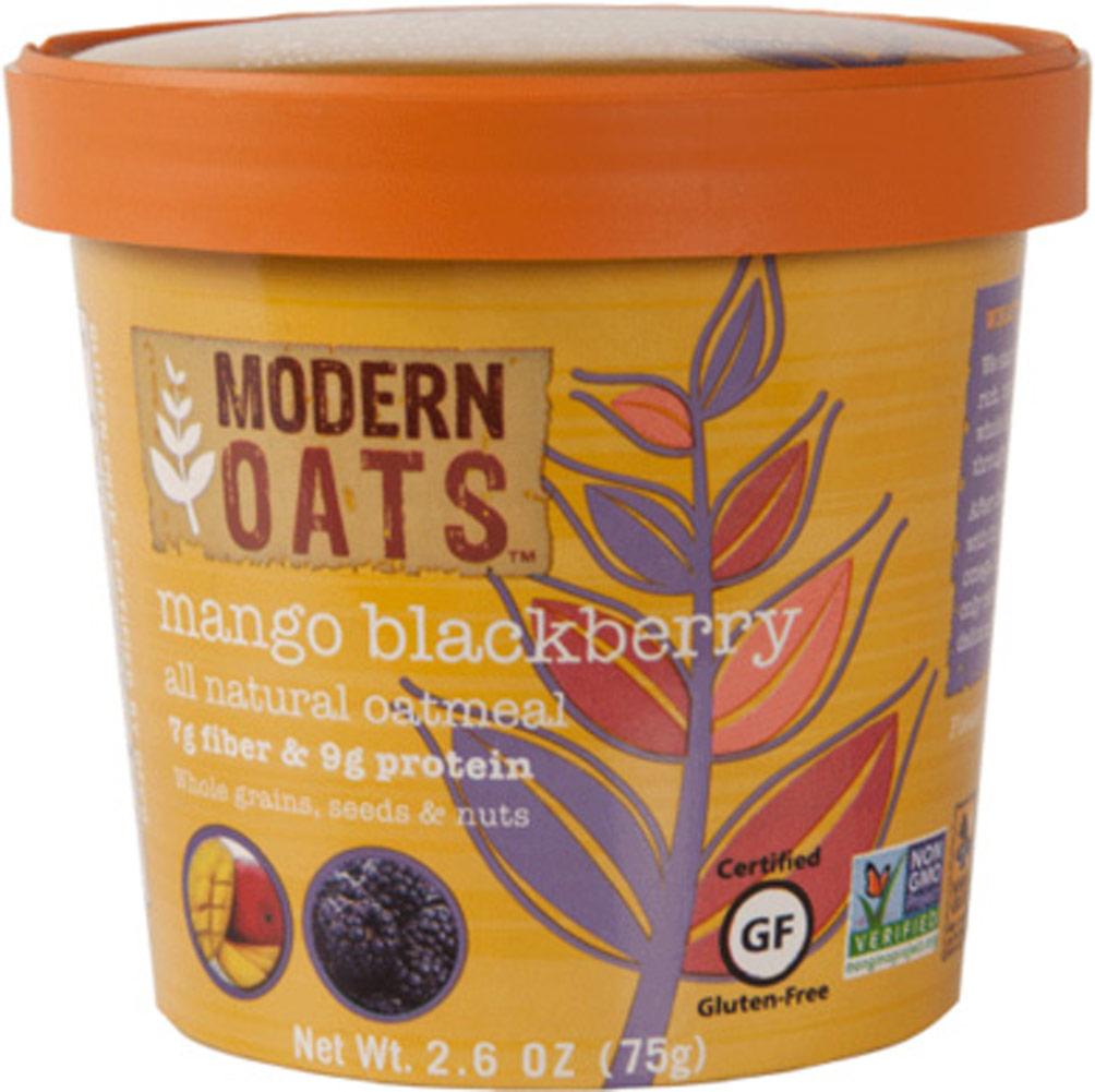Modern Oats Mango Blackberry Oatmeal Cups - 12 Cups 012843