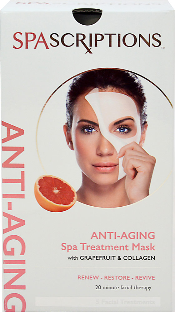 Spascriptions Anti-Aging Grapefruit & Collagen Spa Treatment Mask