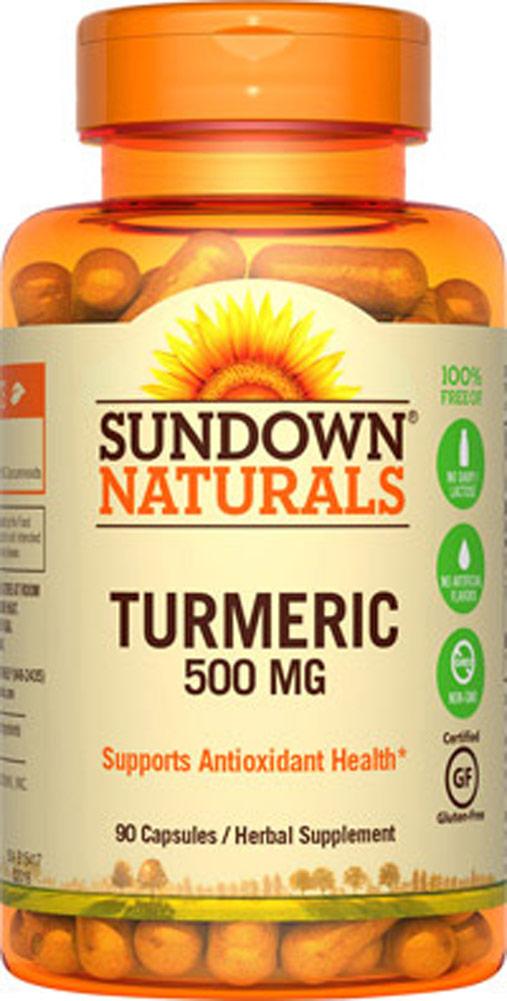 030768515713 Upc Sundown Naturals Turmeric 450 Mg