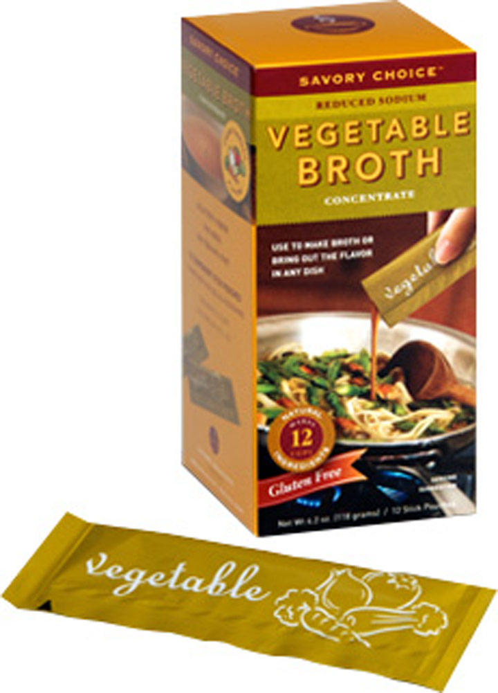 Savory Creations Vegetable Broth - 12 Boxes-12 Sticks Each 020373