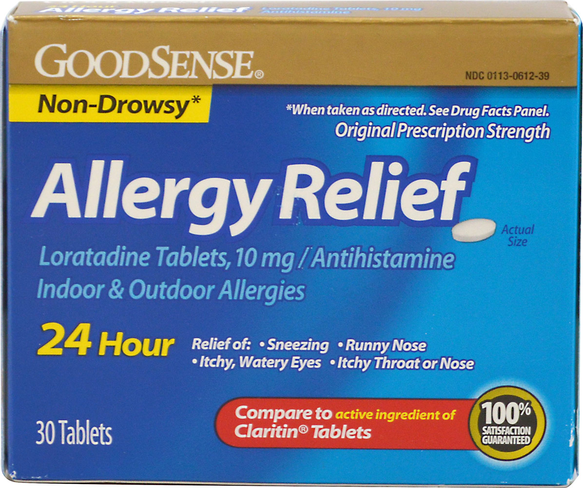 Good Sense Allergy Relief 10 mg-30 Tablets