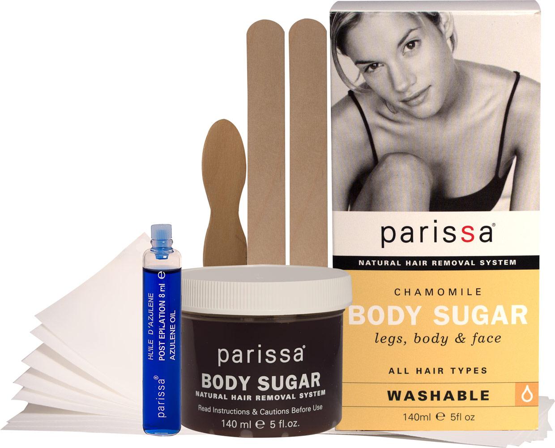 Parissa Chamomile Body Sugar Hair Removal-5 oz Box 020793