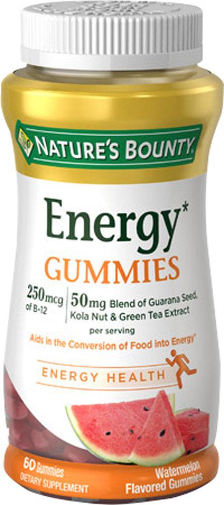 Nature S Bounty Energy Gummies Watermelon  Gummies