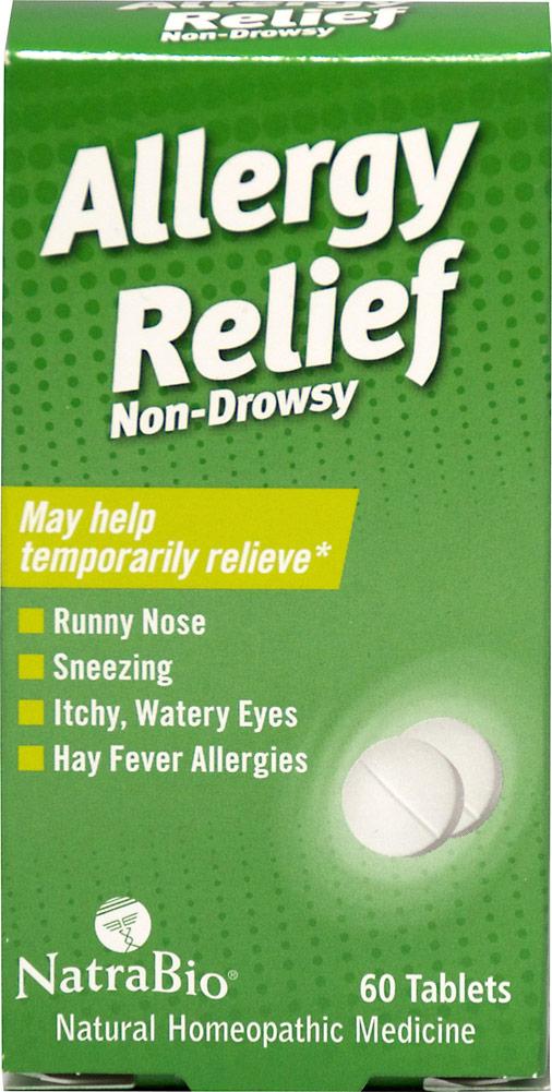 Natra Bio Allergy Relief Non-Drowsy-60 Tablets