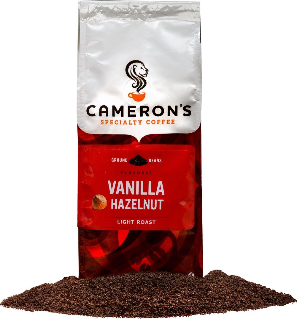 Cameron S Light Roast Coffee Hazelnut Vanilla