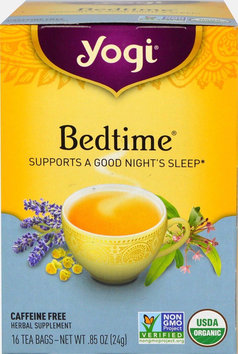 Yogi Tea Bedtime Tea-16 Tea Bags 036322