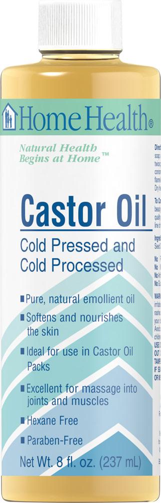 Home Health Castor Oil-8 fl oz Oil
