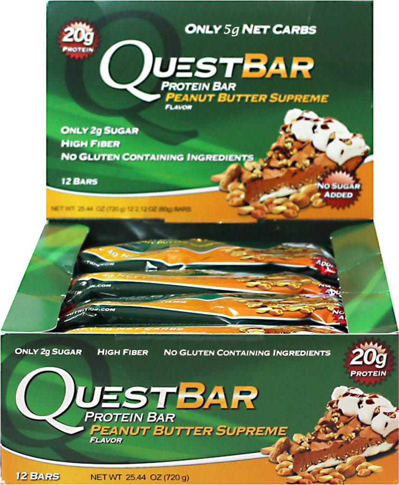 Quest Nutrition Quest Protein Bar Peanut Butter Supreme-12 per Box 059175