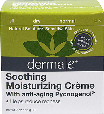 Derma E Derma E Soothing Moisturizing Creme with Anti-Aging Pycnogenol-2 oz Cream