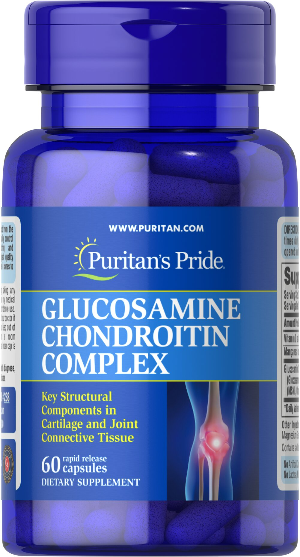 Glucosamine Chondroitin Complex Thumbnail Alternate Bottle View