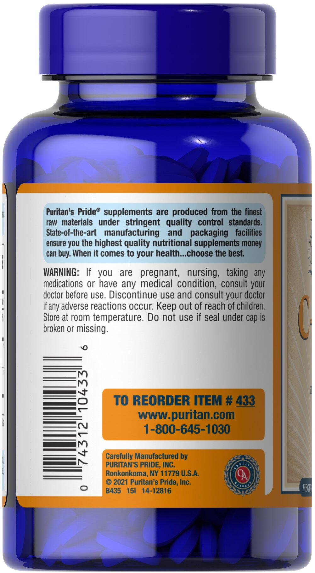 Vitamin C-500 mg with Bioflavonoids & Rose Hips