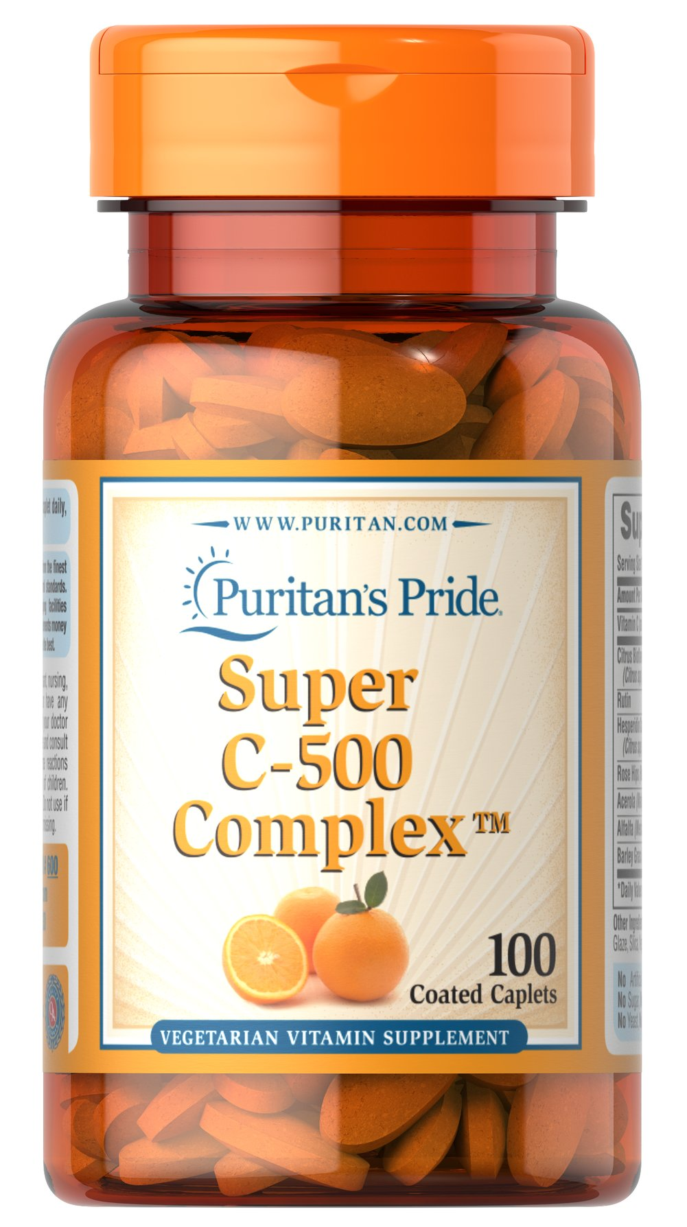Vitamin C-500 Complex Thumbnail Alternate Bottle View