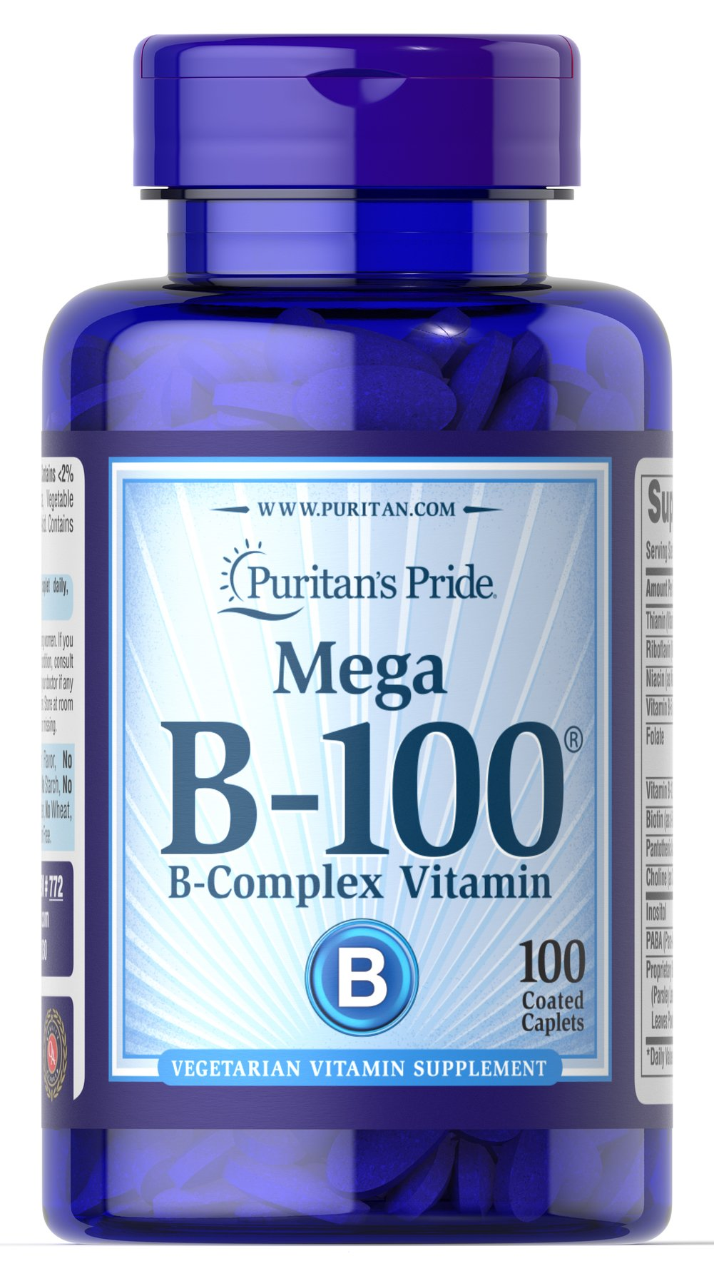 Vitamin B-100® Complex Thumbnail Alternate Bottle View