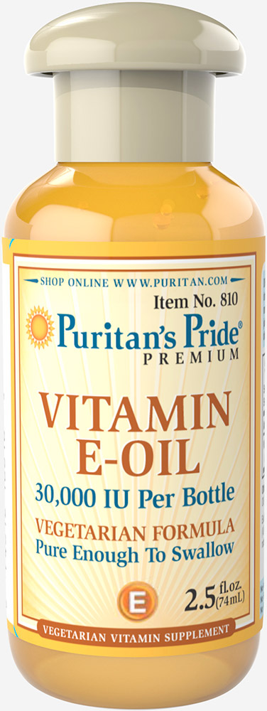 Vitamin E in an Oil Blend