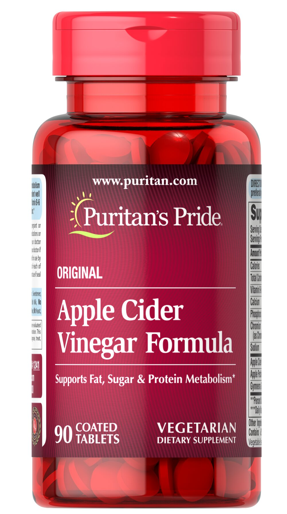 Apple Cider Vinegar Formula Thumbnail Alternate Bottle View