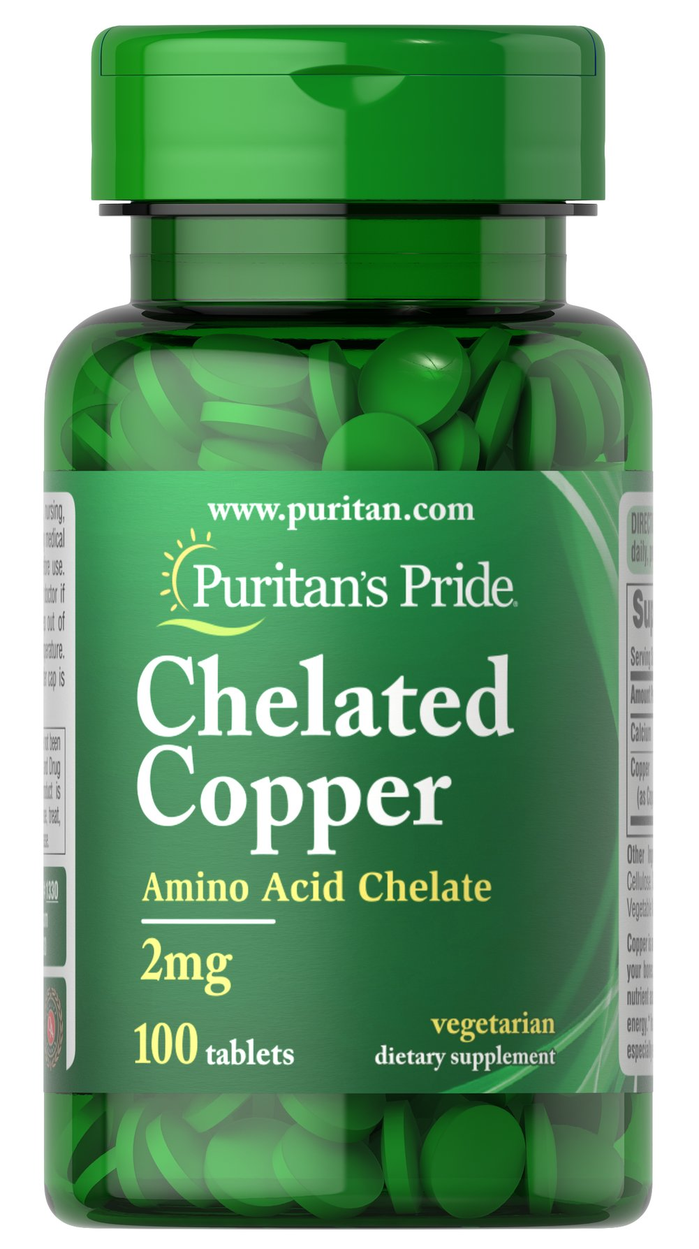 Copper Chelate 2 mg