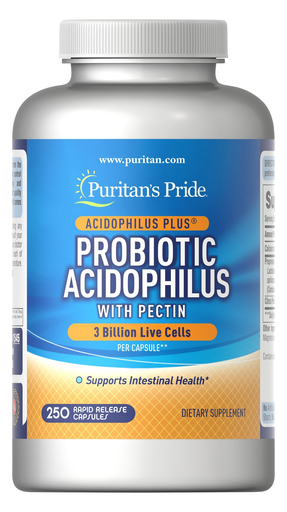 Probiotic Acidophilus with Pectin Thumbnail Alternate Bottle View