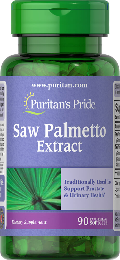 Saw Palmetto Extract Thumbnail Alternate Bottle View