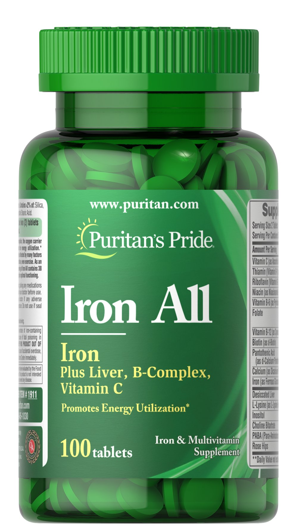 Iron All Iron Thumbnail Alternate Bottle View