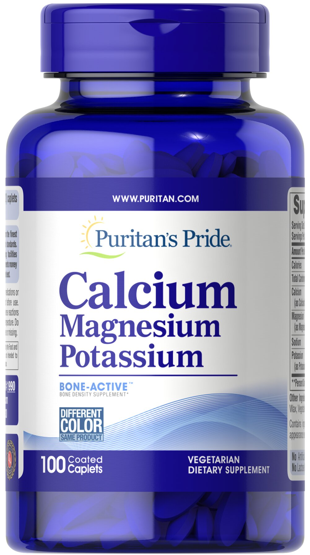Calcium Magnesium and Potassium Thumbnail Alternate Bottle View