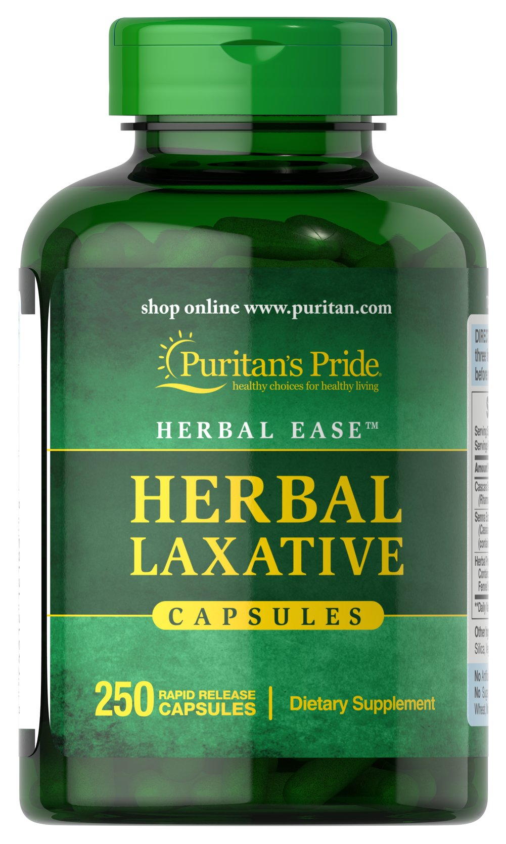 Herbal Laxative Thumbnail Alternate Bottle View