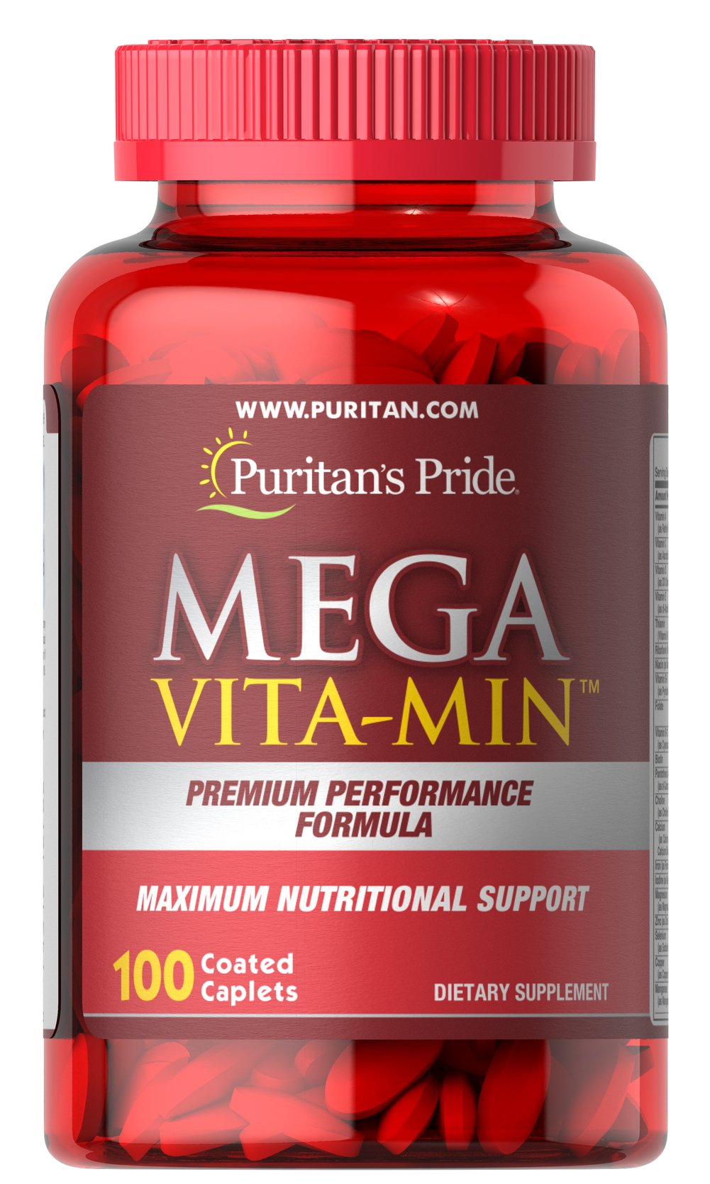 Mega Vita-Min™ Multivitamin Thumbnail Alternate Bottle View