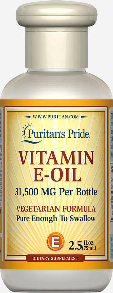 Vitamin E-Oil 31,500 MG Thumbnail Alternate Bottle View