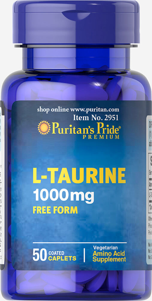 L-Taurine 1000 mg Thumbnail Alternate Bottle View