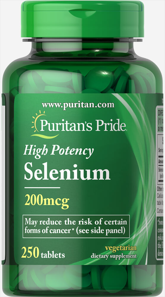 Selenium 200 mcg Thumbnail Alternate Bottle View