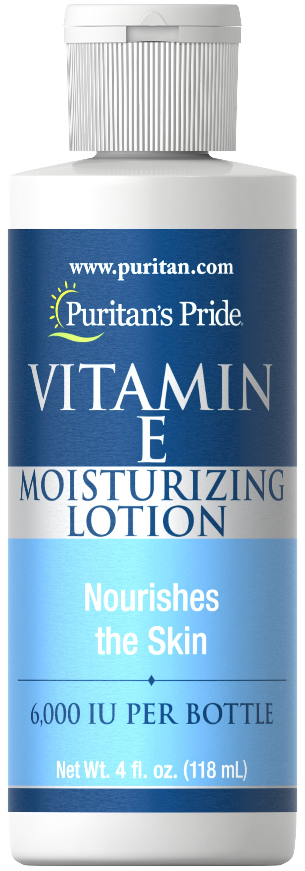 Vitamin E Moisturizing Lotion 6,000 IU Thumbnail Alternate Bottle View