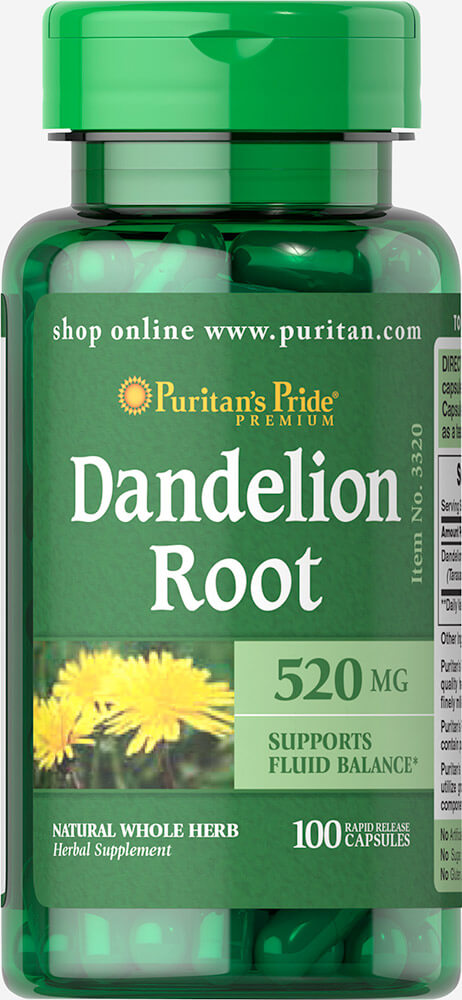 Dandelion Root 520 mg